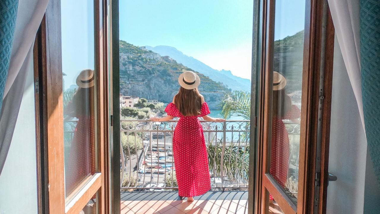 Beautiful Hotel Views in the Amalfi Coast